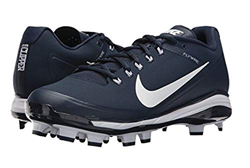 - Nike Mens Max Air Clipper '17 Baseball Softball Cleats Navy/White, Size 11.5 (M)