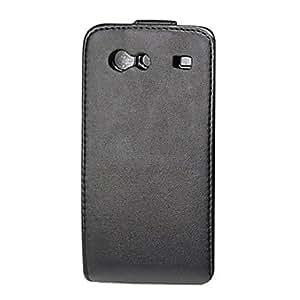 hao Black Elegant Ultrathin PU Leather Flip Case Cover for Samsung Galaxy S I9070