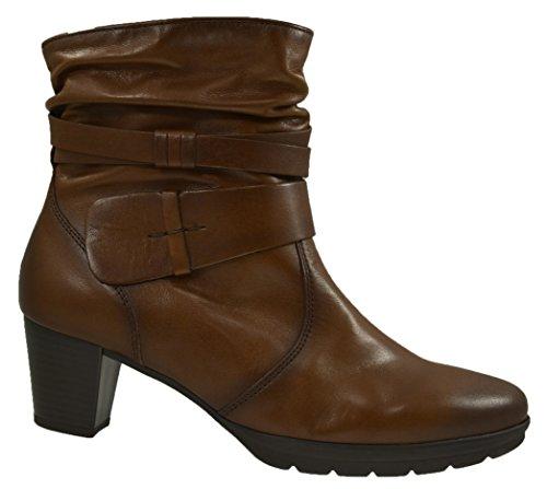 95 Boots Ankle sattel 700 brown 22 Gabor Effekt Women qUYSzEEn