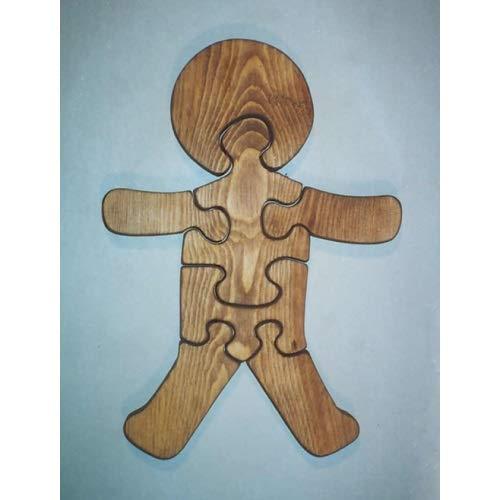 福袋 パズルマン玩具 W-1157 - W-1157 木製教育ジグソー パズル - B07HKHPVB6 ジンジャーブレッドマン B07HKHPVB6, 農林業造園業道具こだわりファイン:c0f9258d --- a0267596.xsph.ru