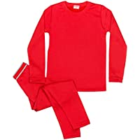 Rocky Boy's Ultra Soft Fleece Lined Thermal Underwear 2 PC Set Long John Top and Bottom