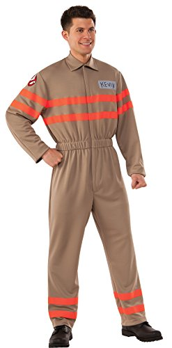 Rubie's Men's Ghostbusters Kevin Deluxe Outfit Movie Theme Halloween Fancy Costume, STD (Up to 44) -