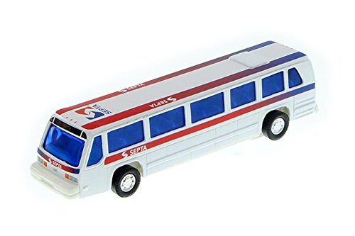Septa Philadelphia Modern City Bus 6 inch diecast 1:64 Scale