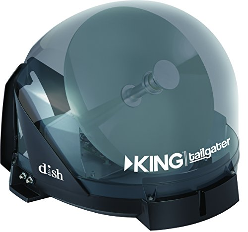 KING VQ4550 Tailgater Bundle - Portable Satellite TV Antenna and DISH Wally HD Receiver by KING (Image #4)