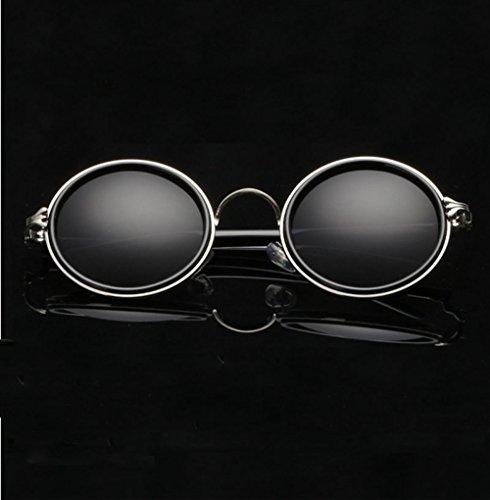 Ciclismo Reflective Prince Colored Viento A Gafas Gafas De Cuidado Sol De Gafas Ocular Vintage G J Unisex De Redondas Mirror Ocasionales Sol Gafas Prueba qIZCItw0x