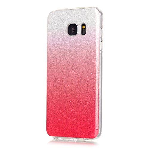 TPU para smartphone Galaxy S7Edge con resistente al diseño–Carcasa Funda Protective Cool suave cristal Back Cover Case Carcasa Cover en smartphone para Samsung Galaxy S7Edge con Ultra Thin Skin Fu 8