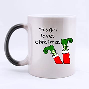 Amazon.com: Funny Christmas Mug - Best Cool This Girl Loves ...