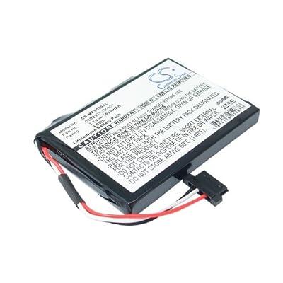 Battery2go - 1 year warranty - 3.7V Battery For Magellan RoadMate Pro 9165T, RoadMate 9020TLM, RoadMate 9055LM