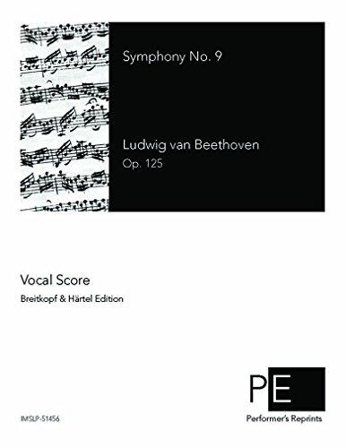 Symphony No.9 - Vocal Score IV. An die Freude - Score
