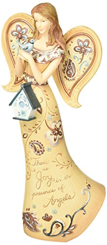 Perfectly Paisley Joy Angel Figurine by Pavilion, 12-Inch Tall, There Is Joy In The Presence of ()