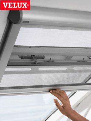 Komplett Neu Original VELUX Insektenschutz Rollo ZIL M06 0000 für Lichte  YX89