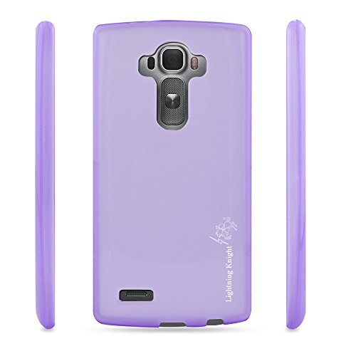 LG G4 Case,LK Ultra [Slim Thin] [Perfect Fit] [Scratch Resistant] TPU Gel Rubber Soft Skin Silicone Protective Case Cover for LG G4 (Purple)