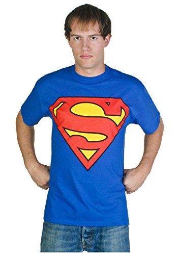 Superman-Classic Logo T-Shirt Size -