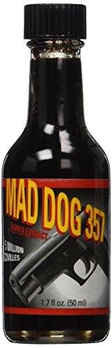 Amazon.com : Mad Dog 357 Pepper Extract 5 Million Scoville, 1.7oz : Hot Sauces : Grocery & Gourmet Food