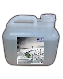 Bog Fog ® - Extreme High Density Fog Juice - HDF Fog Machine Fluid - 2.5 Gallon Square - Best Rated and Best Seller - Water Based, American Made and Just Plain Awesome Fog
