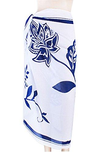PANDA SUPERSTORE Large Veil Sarong Bikini Veil Beach Towel Swimsuit Veil Woman Wrapped Yarn ()