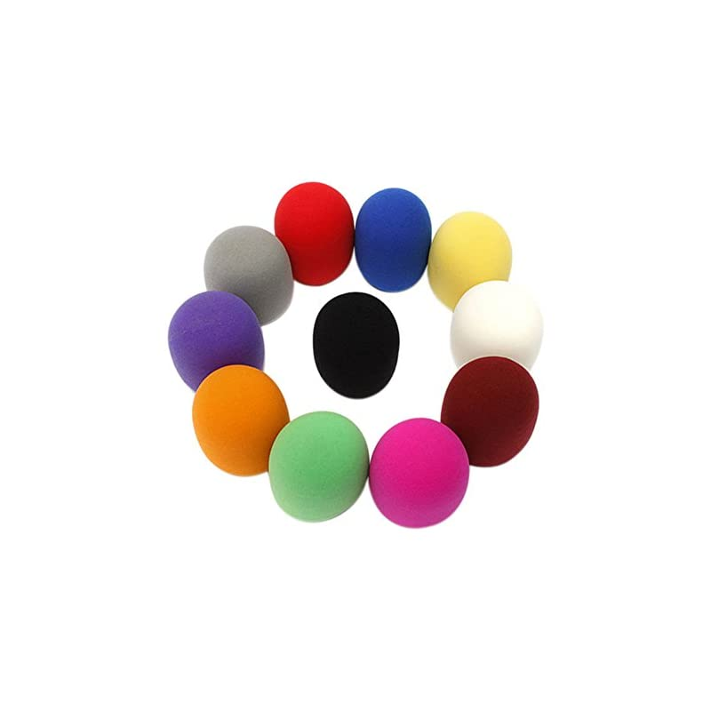 AKOAK 10 Piece Random Color Handheld Mic