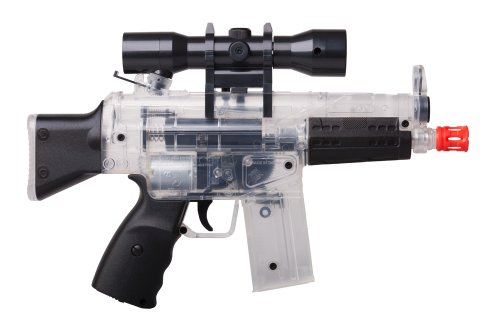 Mask Tactical Firepower Airsoft (Crosman Pulse M74DP Mini AEG Airsoft Pistol (Clear))