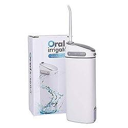 Water Flosser Teeth Cleaner, Power Dental Flosser,Electric Water Pick,Oral Irrigator,150ml For Teeth Brace Clean with 10 Adjustable Water Pressure, Portable