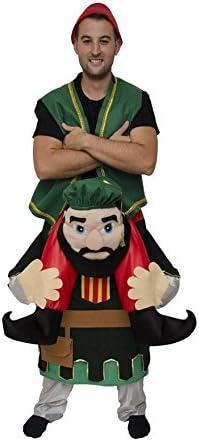 Disfraz de Cristiano con Moro a Hombros para Adultos: Amazon.es ...