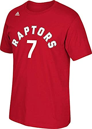 36e7dfc482a adidas NBA Toronto Raptors #7 Kyle Lowry Go To Tee, Red, XXL/TTG, T-Shirts  & Tops - Amazon Canada