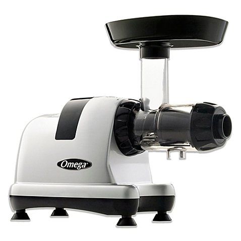 Omega Juicer J8007S Juicer Extractor and Nutrition Center Creates Fruit Vegetable and Wheatgrass...