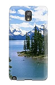Premium Lake Landscape With Mountain Heavy-duty Protection Case For Galaxy Note 3