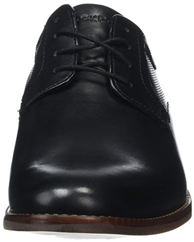 Rockport Style Purpose Perf Plain Toe, Scarpe Stringate Uomo nero