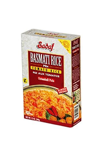 Amazon Com Sadaf Basmati Rice Mix Herb Rice Sabzi Polo