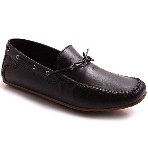 M盲nner Schuhe Unze Unze G00717 F眉r Derak F眉r 'Leder Loafers xCATtqfw1