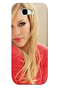 lintao diy Ellent Galaxy Note 2 Case Tpu Cover Back Skin Protector Hilary Duff For Lovers' Gifts