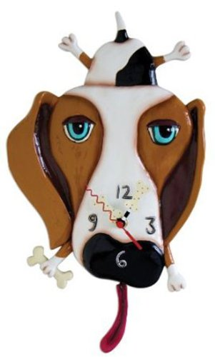 Buckley the Dog Clock by Allen Designs