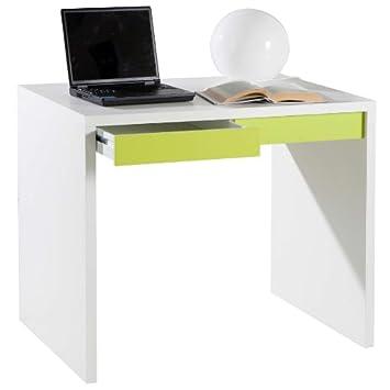 Composad Schreibtisch MONETA weiß/grün: Amazon.de: Küche & Haushalt