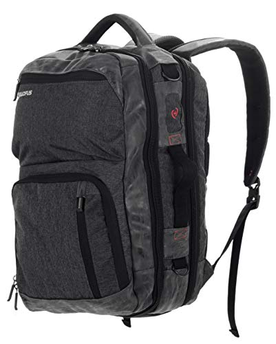 All of Us Drifter Laptop Backpack and Messenger Bag - Large Capacity with Organization Pockets for Overnight Travel