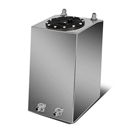 3-Gallon/11.35 Liter Aluminum Racing Bottom Feed Fuel Cell Gas Tank - Aluminum Tanks Fuel