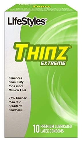 Lifestyles THINZ Extreme - 10 Premium Lubricated Latex Condoms