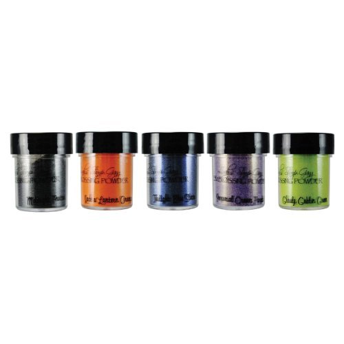 Lindy's Stamp Gang 2-Tone Embossing Powder, 0.5-Ounce, Haunted Halloween, 5 Per Package by Lindy's Stamp Gang