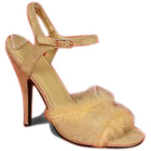 Women's adult Sexy Fur Cavewoman Shoes (Size 5-6)