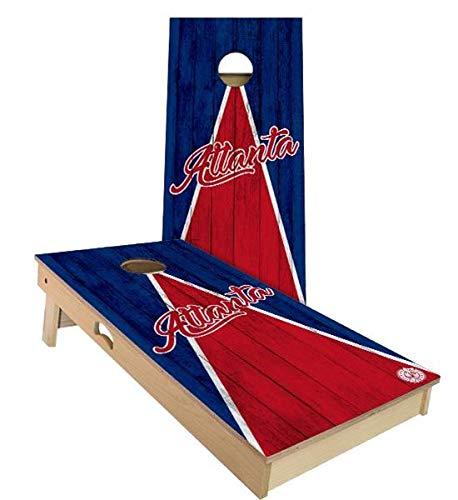 Skip's Garage Atlanta Triangle Baseball Cornhole Set - 2x3 (24