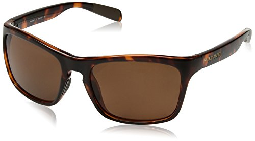 Native Eyewear Penrose Polarized Sunglasses, Maple Tort - Sunglasses Polarized Native