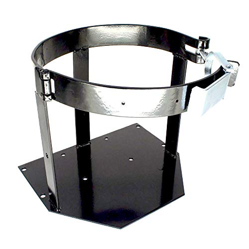 Nashfuel New Universal Vertical Tank Mount Propane Bracket For 20 Lb Tanks Brackets Pound ()
