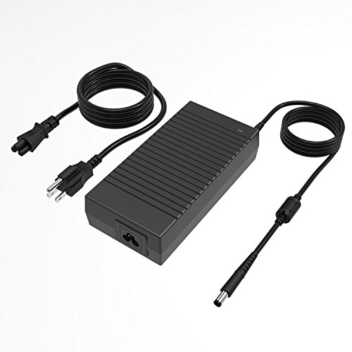 180W Dell Alienware Charger, 19.5V 9.23A 180W Laptop Power Adapter Compatible Dell Alienware 17 R3/15 R3/15 R2/X51 R2/13/14/M17X/M15X/M14X/X51, Dell Precision - Power 180w Ac Supply