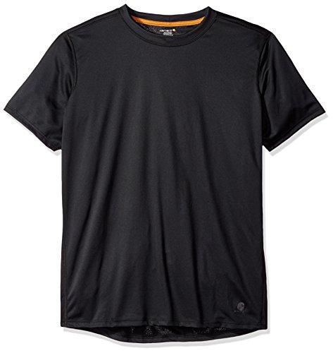 (Carhartt Men's Big & Tall Base Force Extremes Lightweight Short Sleeve T Shirt, Black, 4X-Large)