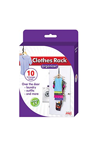 Jokari Over The Door Hanging Clothes Rack Organizer (1 Pack), Null