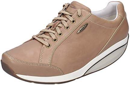 MBT Sneakers Femme Cuir Marron