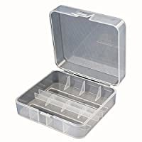 Lights & Lighting - Soshine 2x 26650 Battery Hard Plastic Transparency Storage Case Cover Holder - 1PCs