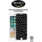 [5-Pack] AllGood Retail Nanoshield iPhone 8/7/6s Screen Protector