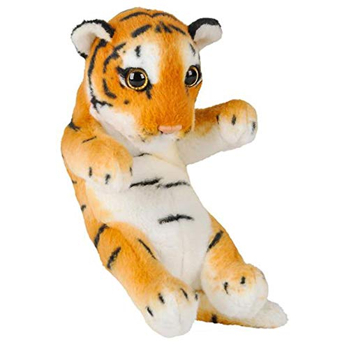 "Wildlife Tree 8"" Small Baby Tiger Cub Stuffed Animal Plush Floppy Zoo Safari Cubs Collection"
