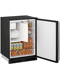 24 1000 Series U-Line COMBO Ice Maker Refrigerator, Stainless Steel,  Reversible Door Hing UCO1224FS00B