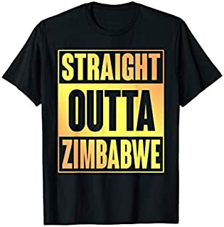 [Featured] Straight Outta Zimbabwe T in ALL styles | Size S - 5XL